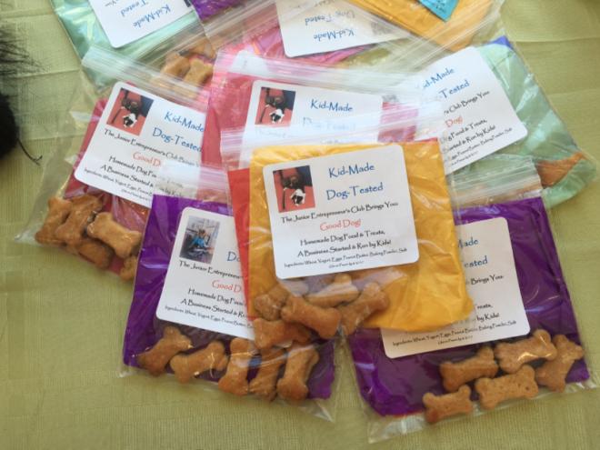 JEC dog treats